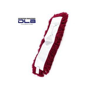 Rechange vadrouille astrolène attachée 36'' rouge