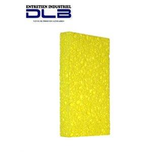 Yellow cellulose sponge
